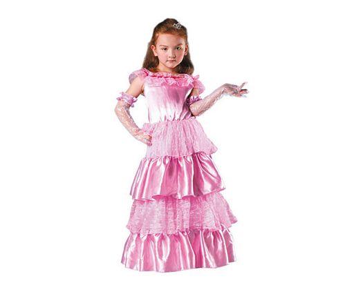 Disfraz de princesa rosa Talla 4 (10 – 12 años)