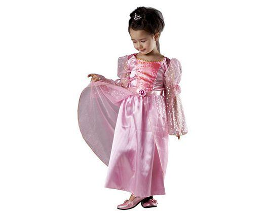 Disfraz de princesa magica rosa, 3-4 años, talla 1