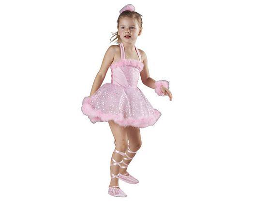 Disfraz de bailarina rosa talla 2
