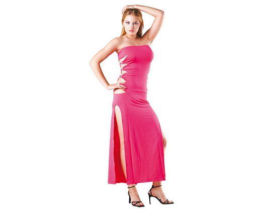 Disfraz de chica de rosa sexy, Talla 2 (M-L)