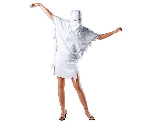 Disfraz de fantasma sexy, Talla 2 (M-L)