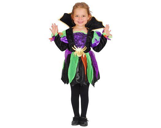 Disfraz de araña, Talla 1 (3 – 4 años)