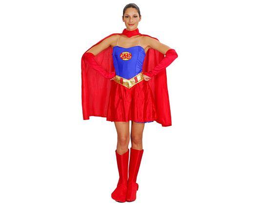 Disfraz de super heroina sexy, adulto