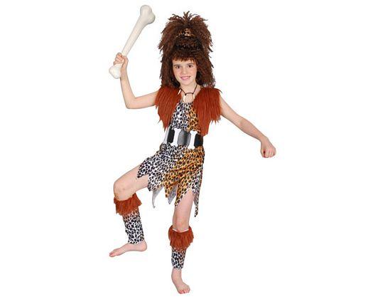 Disfraz de cavernicola, niÑa 10-12