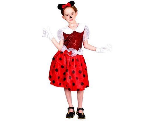 Disfraz de ratoncita, Talla 3 (7 – 9 años)