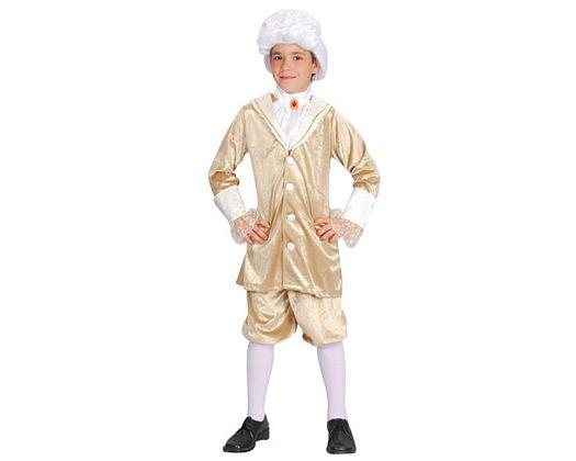 Disfraz de rey de la mascarada veneciana, Talla 3 (7 – 9 años)