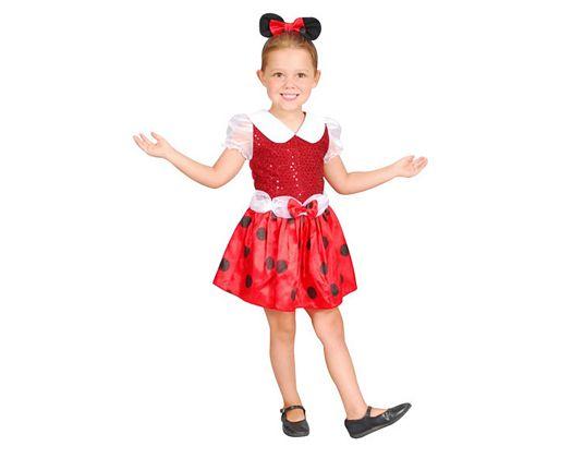 Disfraz de ratoncita, 1-2 años