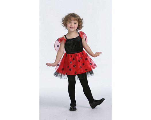 Disfraz de mariquita, 1-2 años