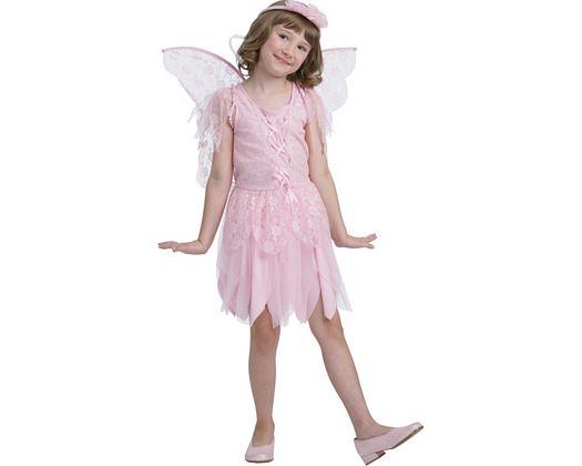 Disfraz de hada rosa, 5-6 años