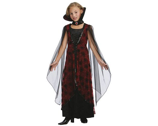 Disfraz de reina vampira lujo, 10-12
