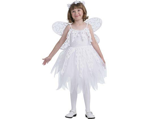 Disfraz de hada blanca lujo, 7-9