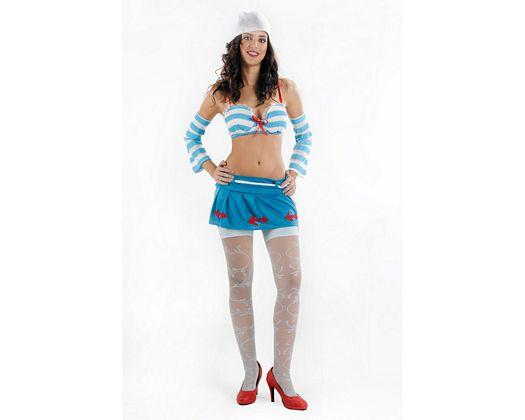 Disfraz de marinera super sexy, Talla 2 (M-L)