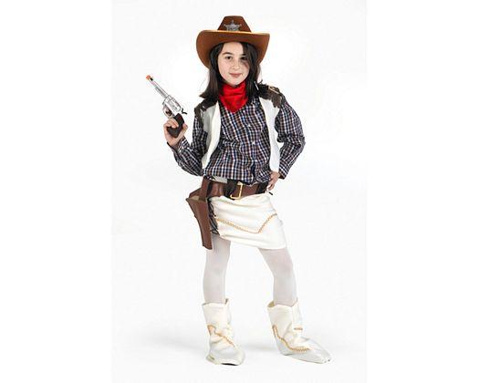 Disfraz de vaquera, Talla 2 (5 – 6 años)