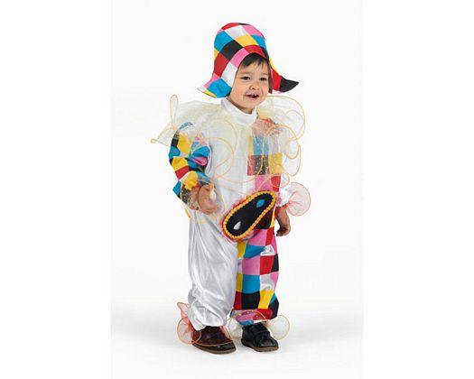 Disfraz de arlequín, 7-9 años
