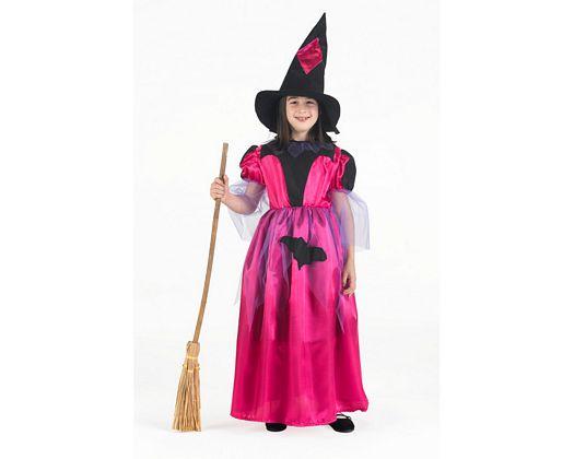 Disfraz de bruja rosa, 3-4