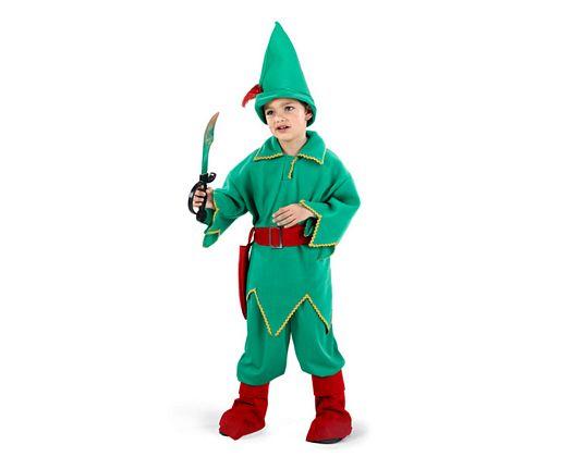 Disfraz de niÑo de los bosques, 7-9