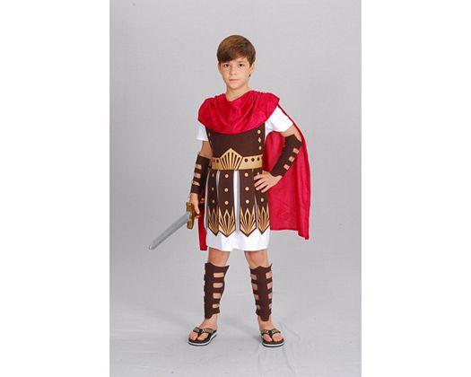 Disfraz de guerrero romano, 5-6 años