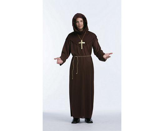 Disfraz de tunica de monje Talla 2 (M-L)
