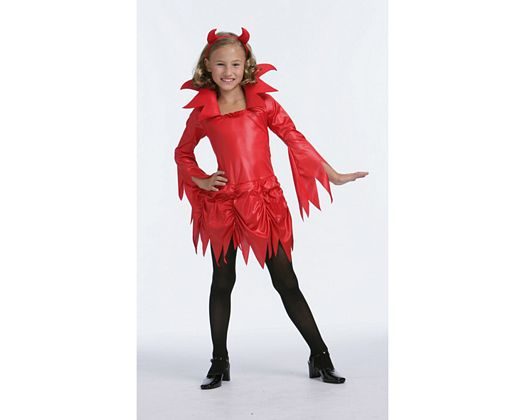 Disfraz de diablesa, 7-9
