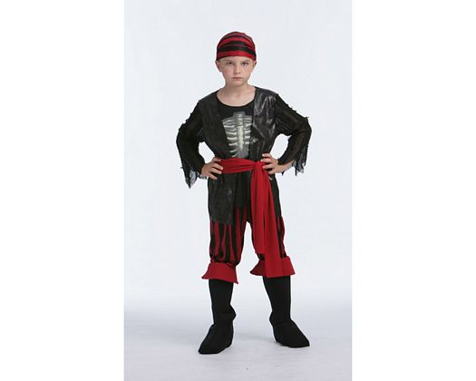 Disfraz de pirata esqueleto, 4-6