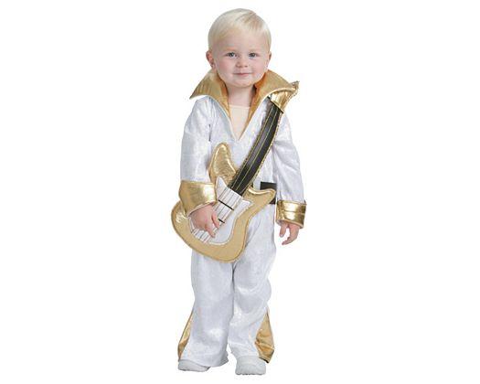 Disfraz de cantante de rock, 3-4 años