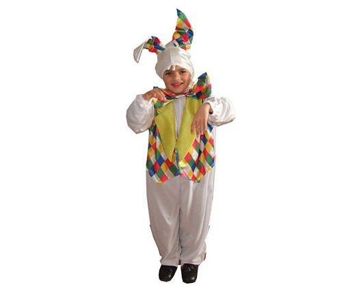 Disfraz de conejo multicolor, Talla 1 (3 – 4 años)