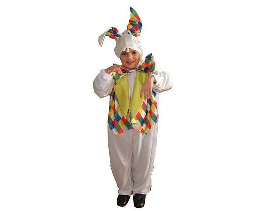 Disfraz de conejo multicolor, Talla 4 (10 – 12 años)