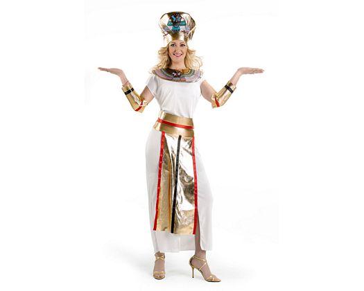 Disfraz de faraona, adulto Talla 2 (M-L)