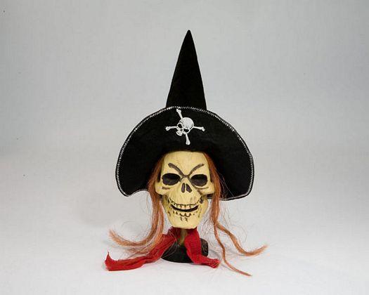 Calavera pirata 50cm