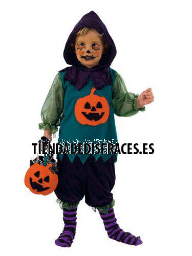 Disfraz de CALABAZA HALLOWEEN NIÑO 3 años