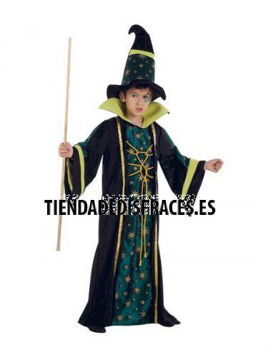 Disfraz de BRUJO ESMERALDA infantil deluxe