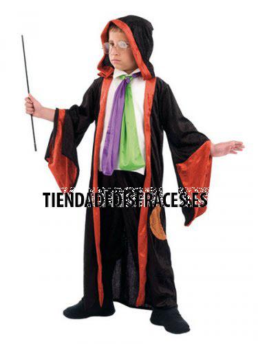 Disfraz  de MAGO infantil deluxe