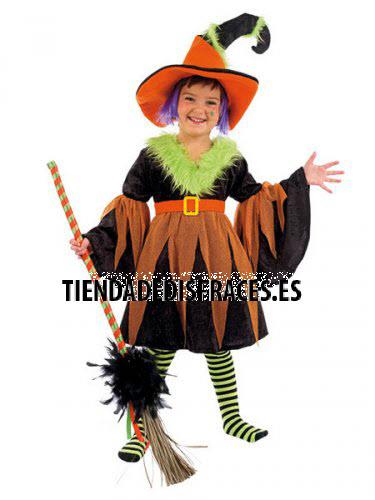 Disfraz de BRUJA SAMANTHA infantil deluxe