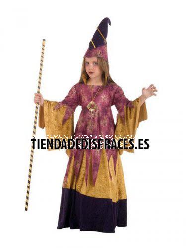 Disfraz de BRUJA MALVADA infantil deluxe