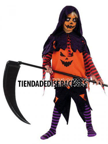 Disfraz de calabaza halloween ni o infantil - Trajes de calabaza ...