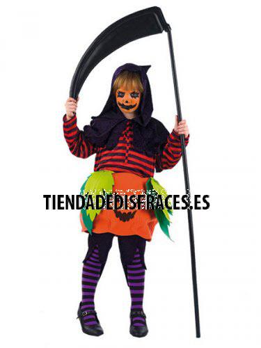 Disfraz de CALABAZA HALLOWEEN NIÑA infantil deluxe