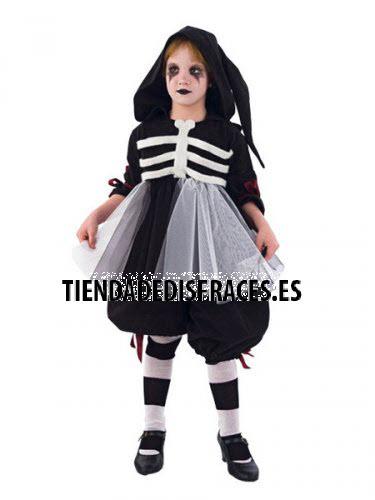 Disfraz de BAILARINA MACABRA infantil deluxe