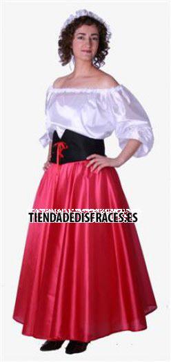 Disfraz de Doncella adulta