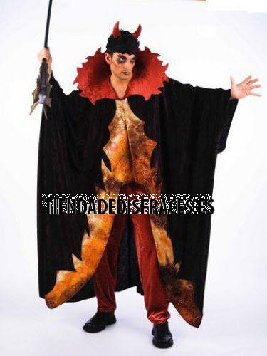 Disfraz de diablo lucifer adulto deluxe