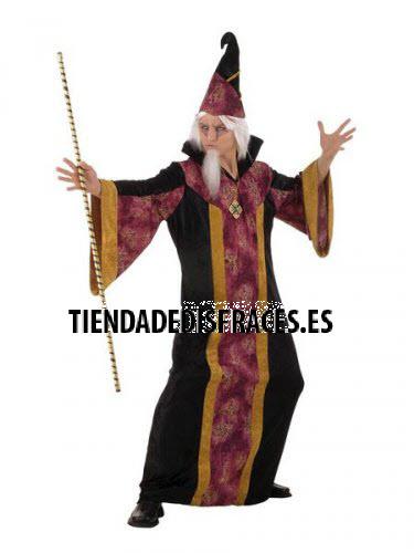 Disfraz de BRUJO MAGICO adulto deluxe