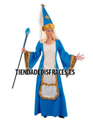 Disfraz de HECHICERA adulto deluxe