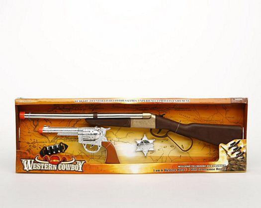 Rifle y pistola sheriff 4piezas