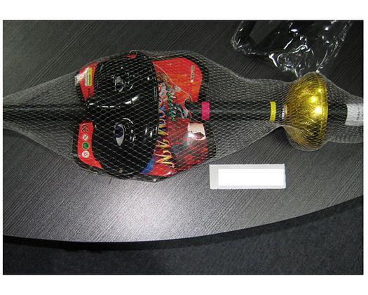 Malla florete con funda y antifaz 67cm
