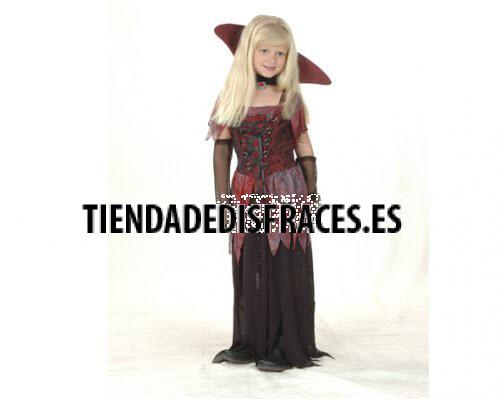 Disfraz de Vampiresa Gótica infantil 2-4 años