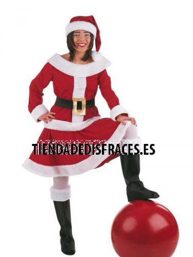 Disfraz de Mama Noel adulta deluxe