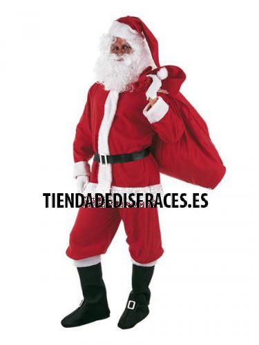 Disfraz de Papa Noel adulto deluxe talla L