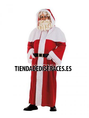 Disfraz de Papa Noel Abrigo adulto deluxe