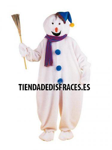 Disfraz de Muñeco de Nieve adulto deluxe