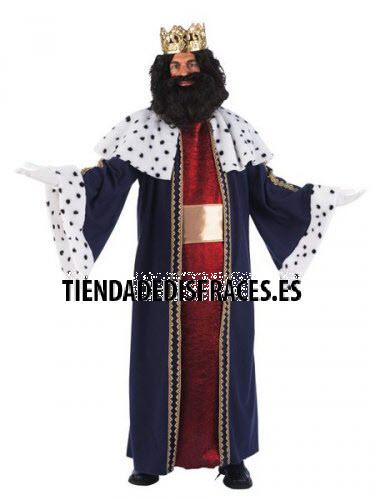 Disfraz de Rey Gaspar adulto deluxe Talla L