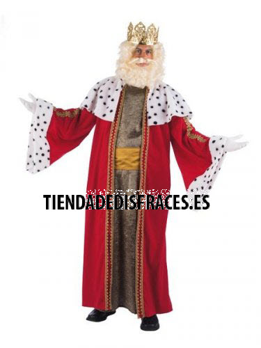Disfraz de Rey Melchor adulto deluxe talla XL